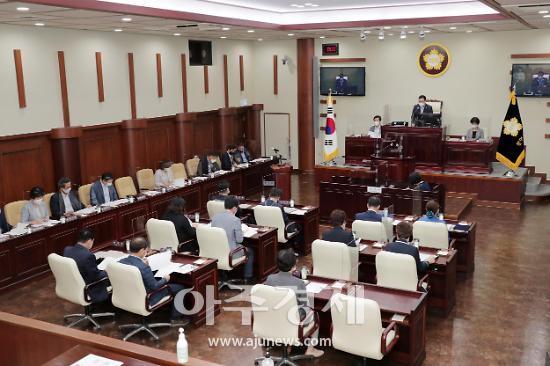 광명시의회, 제257회 임시회 폐회
