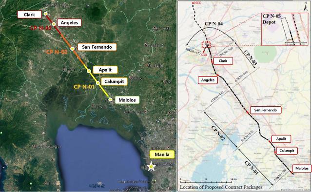 현대건설, 6700억원 규모 필리핀 남북철도 공사 수주
