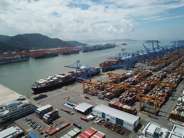 韩9月前20天出口同比增长3.6%