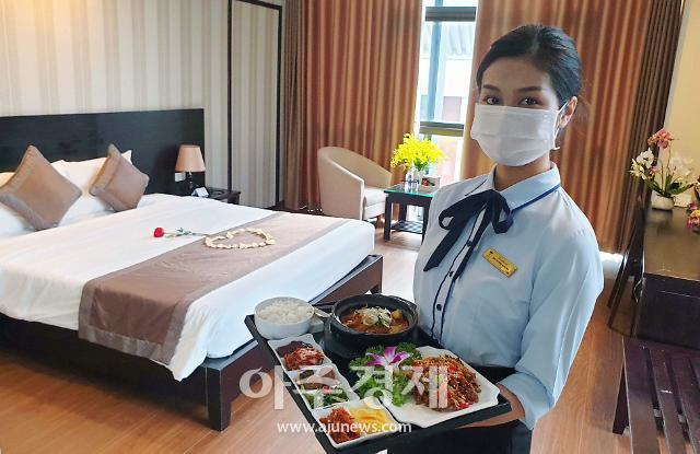 [포토] 하노이 탑 호텔, 베트남 한인 호텔 중 최초 격리 호텔 지정