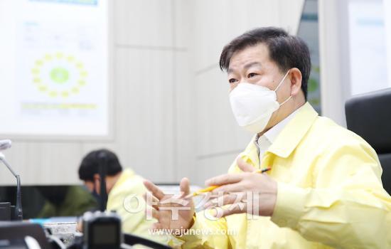 """박승원 시장 """"기아차 소하리공장 하루 빨리 공장 정상 가동되길 바래"""""""