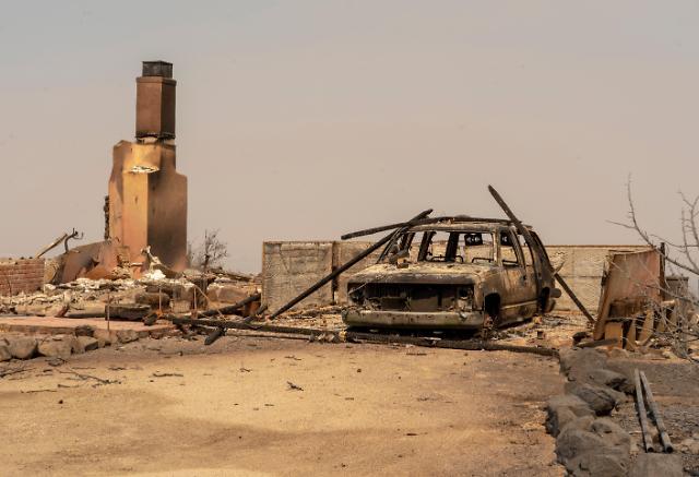 [슬라이드 뉴스] 잿더미만…흔적만 남긴 캘리포니아 산불