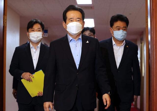 韩总理因下属确诊受检隔离