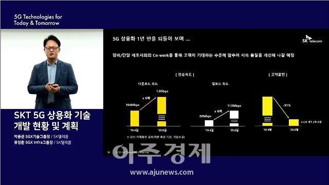 """""""한국 5G 수준 세계적""""…SK텔레콤, 28㎓ 대역·단독모드 B2B 특화"""