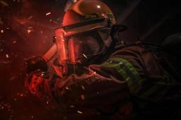 .Firefighter drones to be used for extinguishing high-rise building fires.