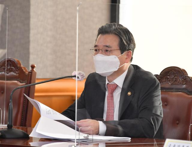 """김용범 기재차관 """"가파른 환율 하락, 위안화 동조 현상 때문"""""""