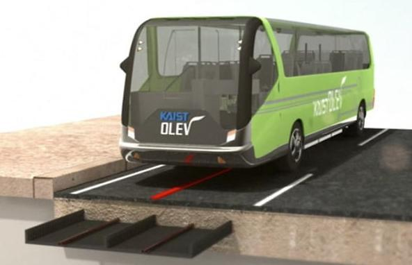 S. Korea approves demonstration of wireless charging for running electric buses