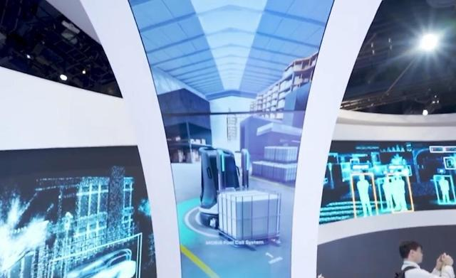 현대모비스·현대차·현대건설기계, 수소지게차 공동 개발 성공…2023년 상용화 목표