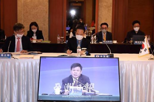 中国外文局局长杜占元:后疫情时代中韩媒体应加强合作促进发展
