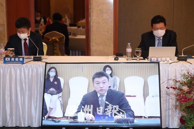 人民画报社社长于涛出席中韩媒体高层论坛并作发言