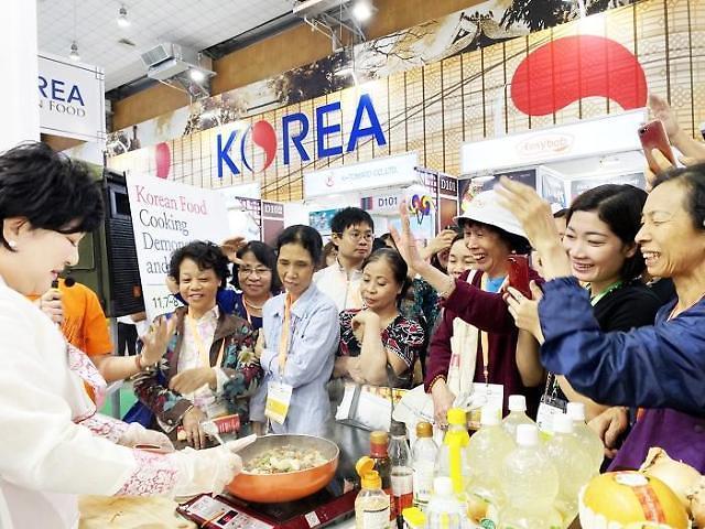 aT, 베트남 내 한국음식점 후방지원 나선다...K-FOOD 행사 개최