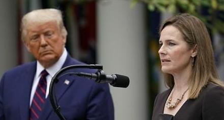 새 대법관 후보에 보수 성향 배럿 지명...결국 밀어붙인 트럼프