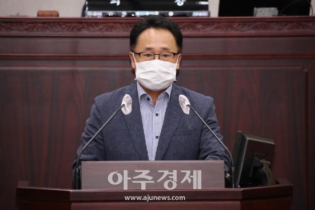 안성시의회 유광철 의원, '김보라 안성시장의 현실과 괴리된 연달은 용역발주와 무분별한 예비비 사용' 지적!