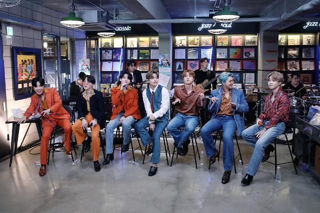 2020韩国年度文化品牌投票结果出炉 防弹少年团当选年度男子偶像