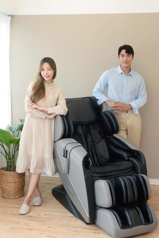 LG전자, 음성인식 안마의자 '힐링미' 신제품 출시...월 9만9000원에 렌탈