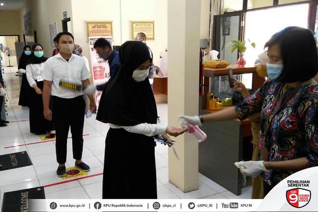 [NNA] 印尼 지방선거 선거운동 첫날 8건 규율위반 적발