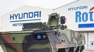 Hyundai Rotem đảm bảo đơn hàng mới để giao xe bọc thép bánh lốp K806 và K808