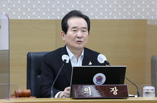 """정 총리 """"방역 ODA 확대해 개도국 코로나19 대응 돕겠다"""""""