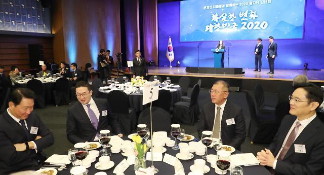 内忧加外患 韩国四大集团总裁难安心度中秋