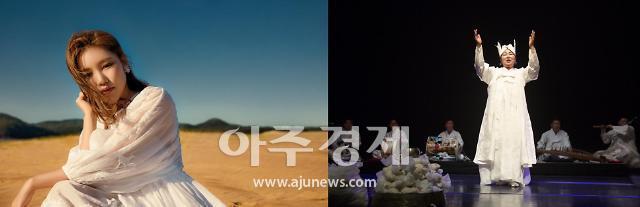 문화유산서 선보이는 노래와 춤…송가인·송순단 모녀, 진도 운림산방서 공연