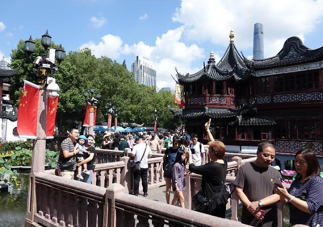 [포토] 국경절 맞아 국내 관광 나선 중국인들