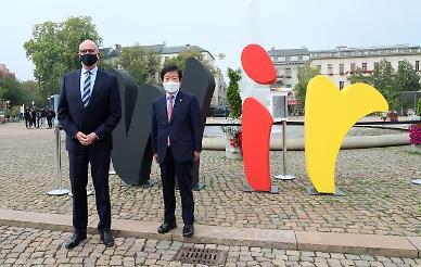 박병석 국회의장, 첫 해외 순방 마치고 귀국…한반도 대면외교