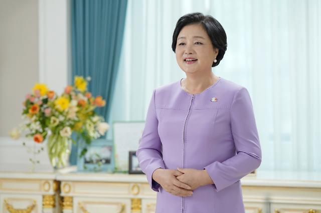 """김정숙 여사 """"한-인도, 평화 번영 등불되길"""""""