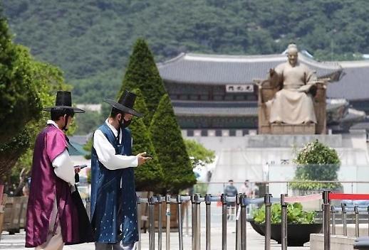 今年上半年访韩外国游客同比减75%
