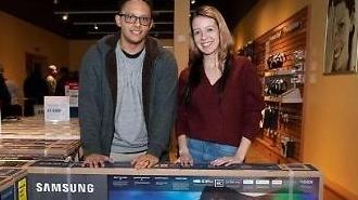 TV thông minh của Samsung được ưa chuộng ở Mỹ