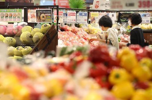 韩国9月CPI同比上涨1%