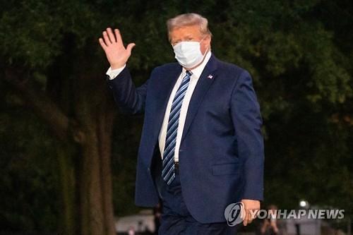 """트럼프에 투여한 약물만 3가지...""""VIP 증후군 생길 수도"""""""