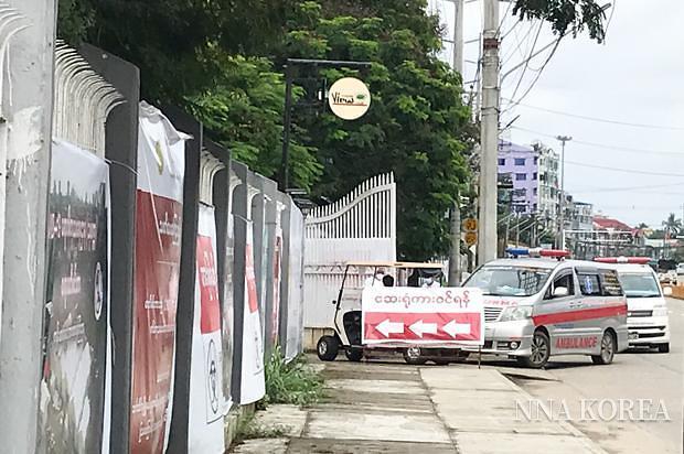 [NNA] 미얀마, 코로나 검사 양성률 15%... 동남아 최고 수준