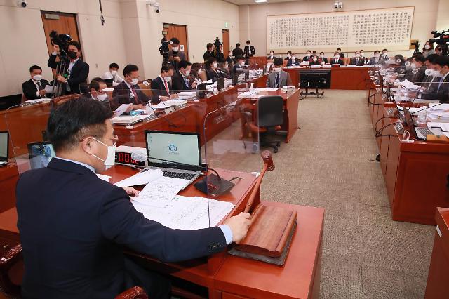 """[2020 국감] 여야 """"김명수 대법원장 사법개혁 성과있나""""…한 목소리 질타"""