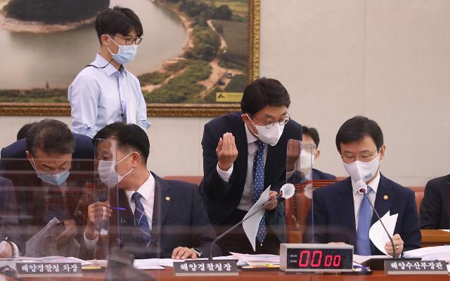 """[2020 국감] 문성혁 장관 北 피격 공무원 """"당직근무·CCTV 자체조사 실시"""""""