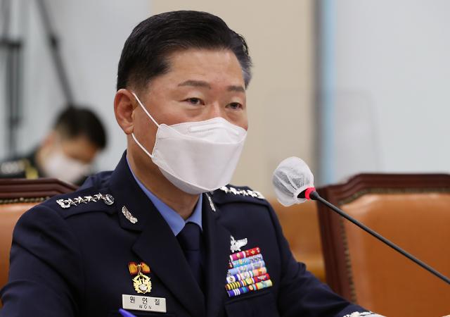 """[2020 국감] 원인철 합참의장 """"북 비대칭 전력 증강, 어떤 위협에도 대응 가능하게"""""""
