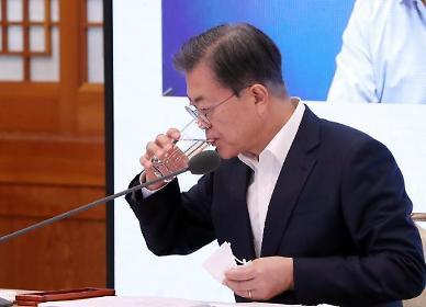 """文대통령 """"울산 화재, 소방관·시민 침착한 대처가 인명피해 막았다"""""""