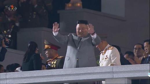 金正恩出席建党75周年阅兵式并发表讲话