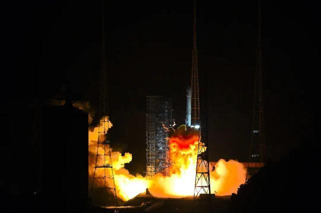 [중국포토]中, 광학 관측위성 가오펀13호 성공리에 발사