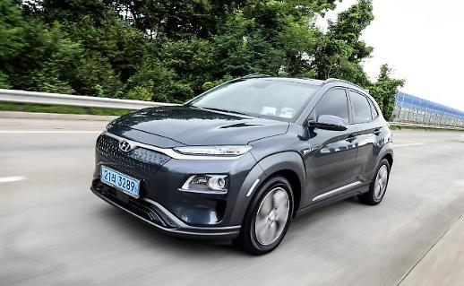 存起火隐患 现代汽车全球召回7.7万辆KONA电动车