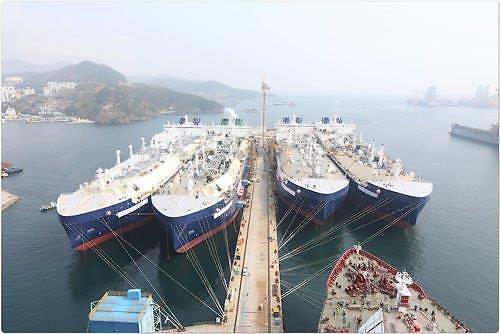 大宇造船海洋拿下117亿破冰LNG船订单