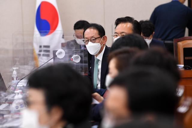 """[2020 국감] """"나경원·윤석열 철저히 수사하라""""…김도읍, 재차 강조"""