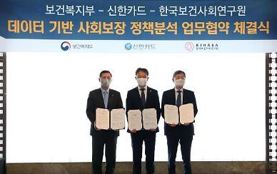 신한카드 빅데이터, 사회보장 정책 연구에 활용