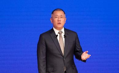Hyundai auto group promotes Chung Eui-sun as chairman