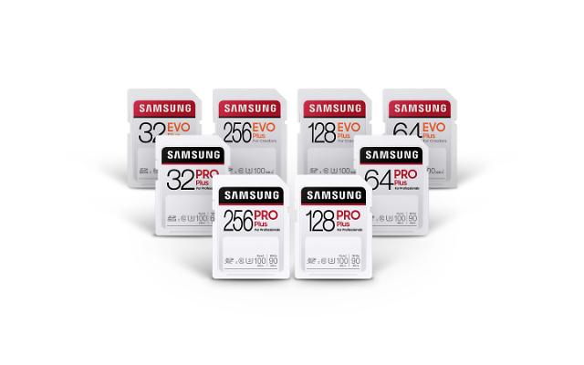 Samsung releases new SD memory card lineups for content creators and photographers