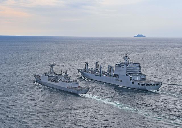 67년 전통 해군 순항훈련전단 코로나19로 기항지 대폭 축소