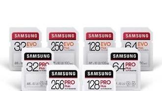 Samsung phát hành dòng thẻ nhớ SD mới với tốc độ truyền dữ liệu nhanh và độ bền cao