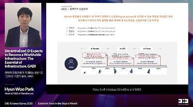라온시큐어, DID플랫폼간 상호호환 해법 제시…옴니원에 GADI 연결