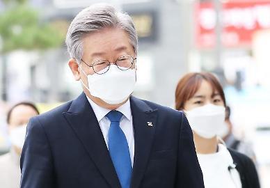 [속보] 이재명 경기지사, 파기환송심 무죄