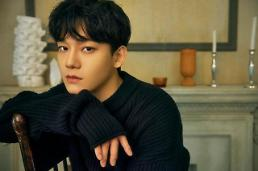 .K-pop band EXO member Chen to enter boot camp in late October.
