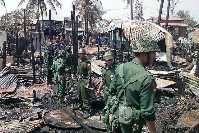 [NNA] 미얀마 라카인주, 총선 불가... 무력분쟁이 이유